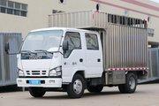 庆铃 五十铃600P 130马力 4X2 3.07米双排厢式拉鱼车(顺肇牌)(SZP5040TSCQL4)