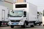 东风 凯普特K6-N 140马力 4X2 4.085米肉挂冷藏车(顺肇牌)(SZP5040XLCEQ1)图片