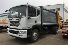 东风 多利卡D9 170马力 4X2 压缩式垃圾车(程力威牌)(CLW5165ZYSD5)