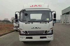 江淮 骏铃V8 绿通王 170马力 4.15米单排厢式轻卡(HFC5043XXYP91K1C2V-S) 卡车图片