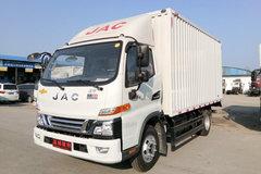 江淮 骏铃V6 143马力 4.15米单排厢式轻卡(HFC5043XXYP91K1C2V-S)图片