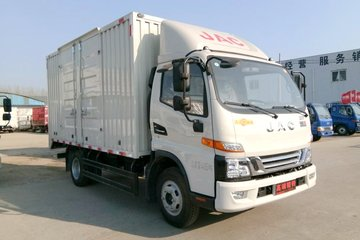 江淮 骏铃V6 120马力 4.18米单排厢式轻卡(HFC5043XXYP91K1C2V)