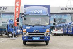 江淮 帅铃Q6 160马力 3.79米排半厢式轻卡(国六)(HFC5048XXYB71K2C7S)