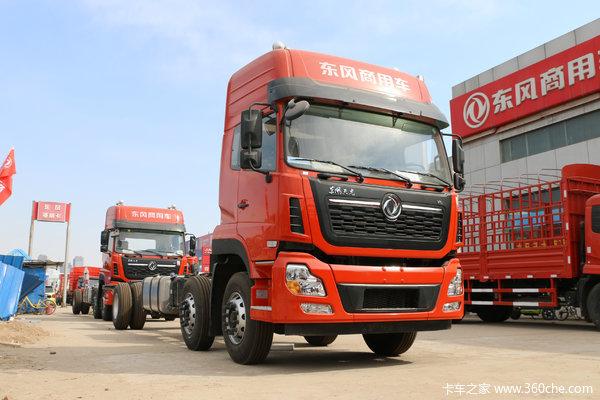 东风商用车 天龙VL重卡 2019款 292马力 6X2 9.6米栏板载货车