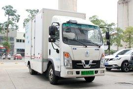 吉利远程 E200 标配版 4.14米单排厢式纯电动轻卡80.64kWh(气制动)