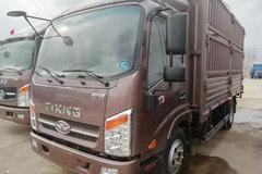 唐骏欧铃 T3系列 116马力 4.15米单排仓栅式轻卡(ZB5041CCYJDD6V) 卡车图片