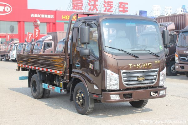 降价促销唐骏K1载货车130马力仅售7万