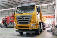 中国重汽 豪瀚J5G 340马力 8X4 5.6米AMT自动挡自卸车(ZZ3315N2863E1) 卡车图片