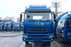 江淮帅铃 威司达W570中卡 180马力 4X2 7.8米排半厢式载货车(HFC5182XXYP70K1E3V) 卡车图片