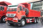 中国重汽 金王子重卡 336马力 6X4 5.6米自卸车(ZZ3251N4041D1L)