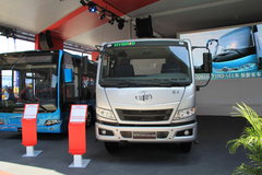 一汽解放 骏威J5K 109马力 4X2 混合动力城市垃圾车底盘(半浮悬置驾驶室)