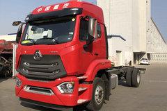中国重汽 豪瀚N5G中卡 240马力 4X2 6.75米栏板载货车(ZZ1185K5113E1)