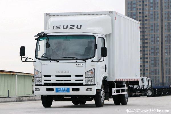 庆铃 五十铃KV100 120马力 4.17米单排厢式轻卡