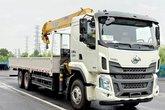 东风柳汽 乘龙H5 290马力 6X4 8.5米随车吊(10挡)(LZ5250JSQH5DB)