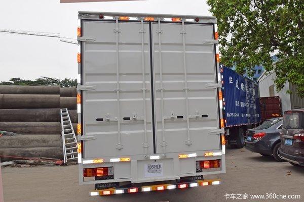 宿迁安顺国六解放轻卡J6F厢式货车到店