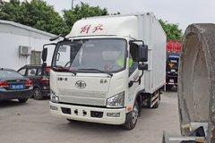解放 J6F 150马力 3.85米排半厢式轻卡(CA2045XXYP40K2L1T5E5A84) 卡车图片