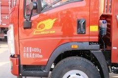 中国重汽HOWO 悍将 170马力 4.165米单排栏板轻卡(ZZ1047F341CE145) 卡车图片