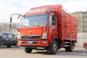中国重汽HOWO 悍将 116马力 3.65米单排仓栅式轻卡(ZZ5047CCYC2813E145)
