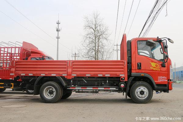 回馈客户重汽豪沃统帅载货车仅售12.10万