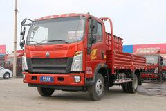 中国重汽HOWO 统帅 148马力 4.165米单排栏板轻卡(ZZ1047F341CE145) 卡车图片
