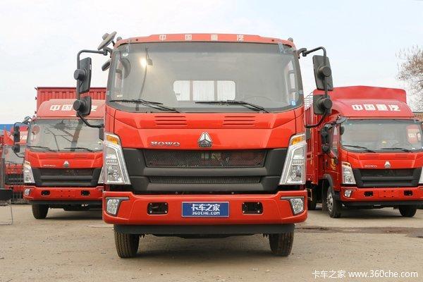 中国重汽HOWO 统帅 2019款 190马力 3.85米排半栏板轻卡(8挡)(国六)