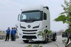 陕汽重卡 德龙X6000 430马力 4X2 AT自动挡牵引车(SX4180GC1) 卡车图片