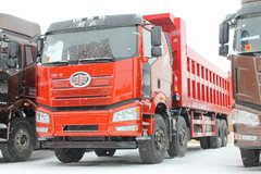 一汽解放 J6P重卡 500马力 8X4 8.5米自卸车(4700轴距)(CA3310P66K24L7T4AE5) 卡车图片