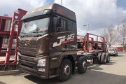 青岛解放 JH6重卡 460马力 8X4 8.6米栏板载货车(CA1310P25K2L7T4E5A80)