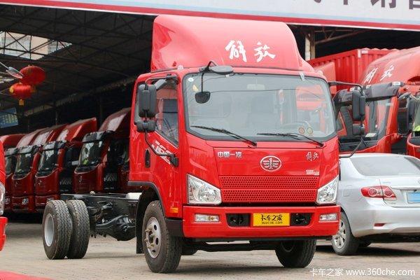 降价促销解放J6F载货车仅售10.30万元