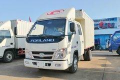 福田时代 小卡之星Q2 1.5L 112马力 汽油 3.05米双排厢式微卡(BJ5032XXY-B5) 卡车图片