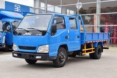 江铃 顺达窄体 116马力 3.265米双排栏板轻卡(JX1041TSGA25) 卡车图片