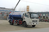 春风 多利卡 120马力 4X2 吸污车(湖北程力-程力威牌 )(CLW5090GXW3)