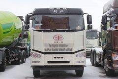 解放 J6P 350马力 6X4 5.02方混凝土搅拌车(中集凌宇)(CLY5255GJB43E5B)