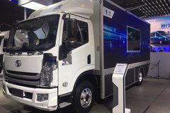 上汽跃进 超越EC500i 10T 5.2米单排纯电动智能城市物流车207.5kWh
