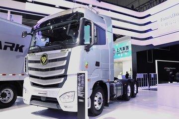福田 欧曼EST-A 6系重卡 2019款畅行版 560马力 6X4 AMT自动挡牵引车(国六带液缓)