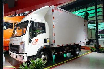 中国重汽HOWO 王系 130马力 4.15米单排厢式轻卡(国六)(ZZ5047XXYF3314F145)