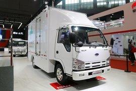 庆铃 五十铃EV100 4.5T 4.25米单排纯电动厢式轻卡(续航330)