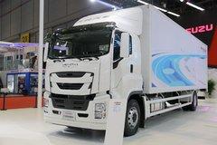 庆铃 FVR重卡 408马力 4X2 厢式载货车 卡车图片