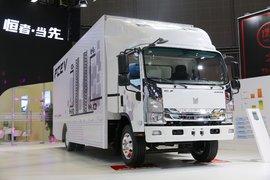庆铃 10T 9米单排氢燃料电池厢式轻卡