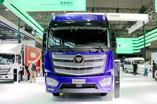 福田 欧曼EST 6系重卡 510马力 6X4牵引车(ZF16档)(BJ4259SNFKB-AQ)