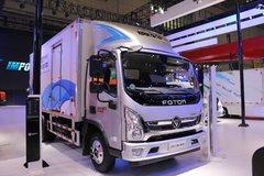 福田 奥铃CTS 超越版 170马力 5.15米排半厢式轻卡(国六) 卡车图片