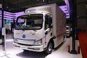 福田 欧马可智蓝 4.5T 4.14米单排纯电动厢式轻卡(BJ5045XXYEV)
