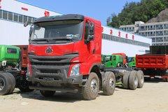 东风柳汽 乘龙H7 400马力 8X4 7.6米LNG自卸车(LZ3311H7FL)