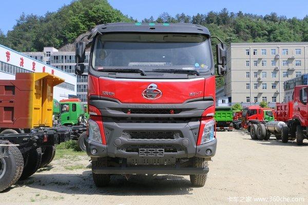 东风柳汽 乘龙H7 420马力 8X4 8.2米自卸车