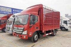 福田 欧马可S3系 156马力 4.23米单排仓栅式轻卡(BJ5049CCY-A3) 卡车图片