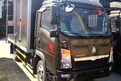 中国重汽HOWO 悍将 116马力 4.15米单排厢式轻卡(ZZ5047XXYF3315E145) 卡车图片