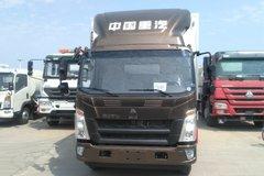 中国重汽HOWO 悍将 156马力 4X2 4米冷藏车(ZZ5047XLCF3315E145)