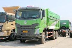 东风柳汽 乘龙H7 400马力 6X4 5.6米LNG自卸车(LZ3251H7DL)
