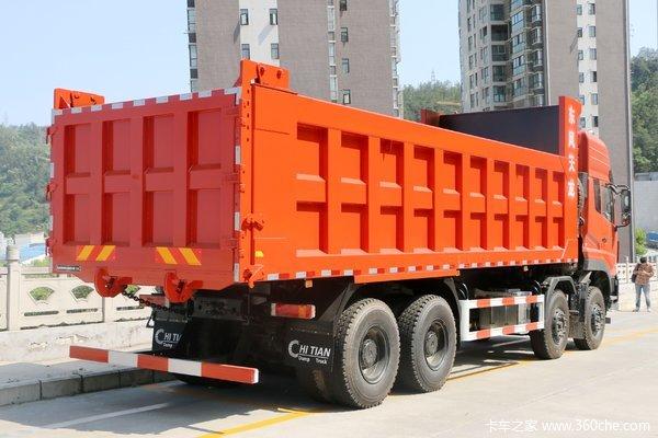 东风商用车 天龙KC重卡 385马力 8X4 7.4米自卸车(DFH3310A3)