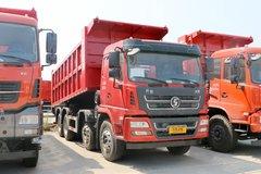 陕汽商用车 轩德X6 标载版 300马力 8X4 6.8米自卸车(5T前桥)(SX3315GP5)图片